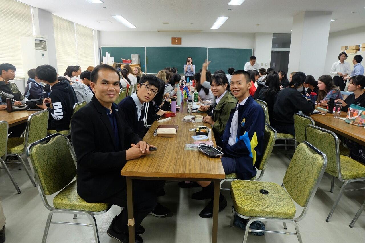 โรงเรียนกาญจนาภิเษกวิทยาลัย กาฬสินธุ์นำนักเรียนเดินทางไปแลกเปลี่ยนเรียนรู้วัฒนธรรมโครงการความร่วมมือทางการศึกษา ไทย – ญี่ปุ่น ปีที่ 5 ประจำปี 2562
